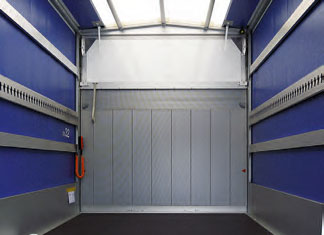 Ladungssicherung für Verdeck (Zurr-, Alu- und/oder Holzlatten)