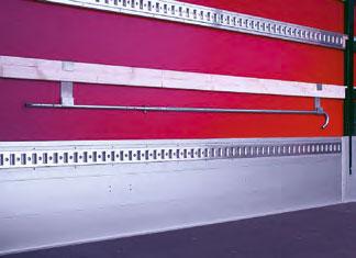 Sicherungslatten (Holz-, Aluminium- oder Zurrlatten)